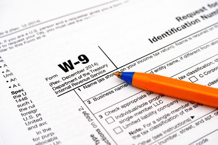 What Is A W-9?